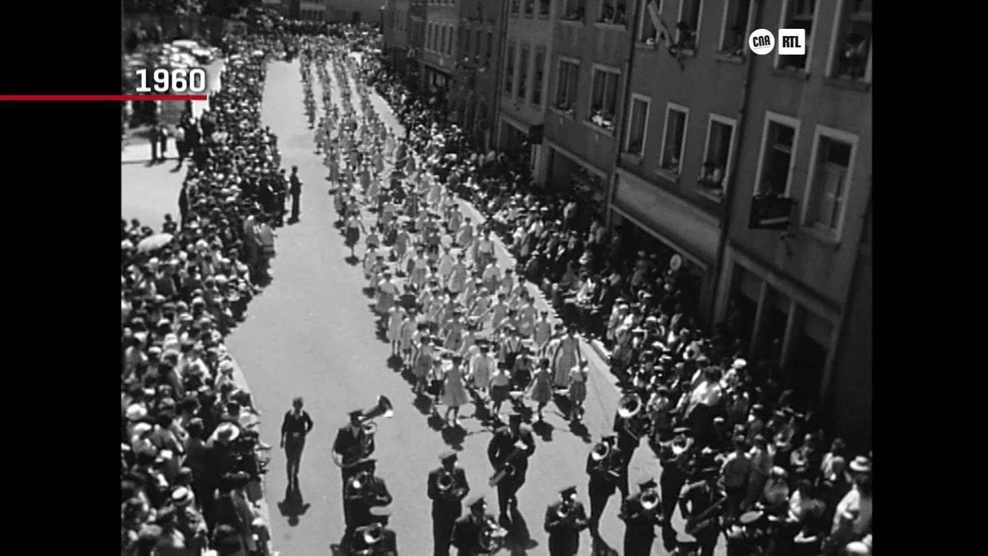 Découvrez les trésors des archives luxembourgeoises :La procession dansante d'Echternach