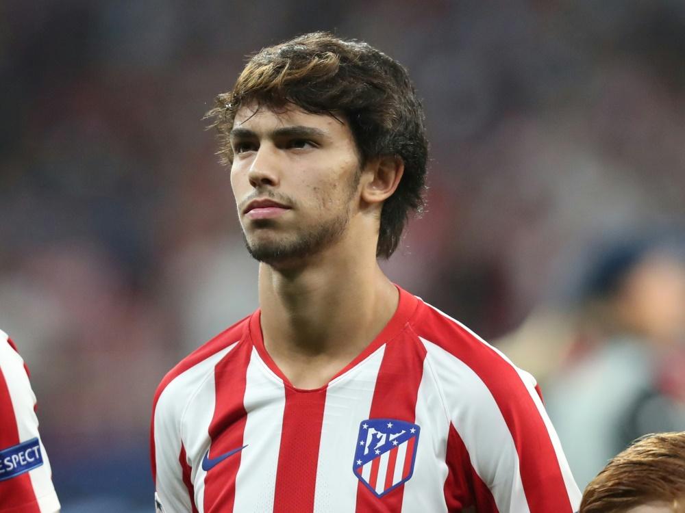 Atlético Madrid :L'attaquant portugais Joao Felix victime d'une entorse au genou
