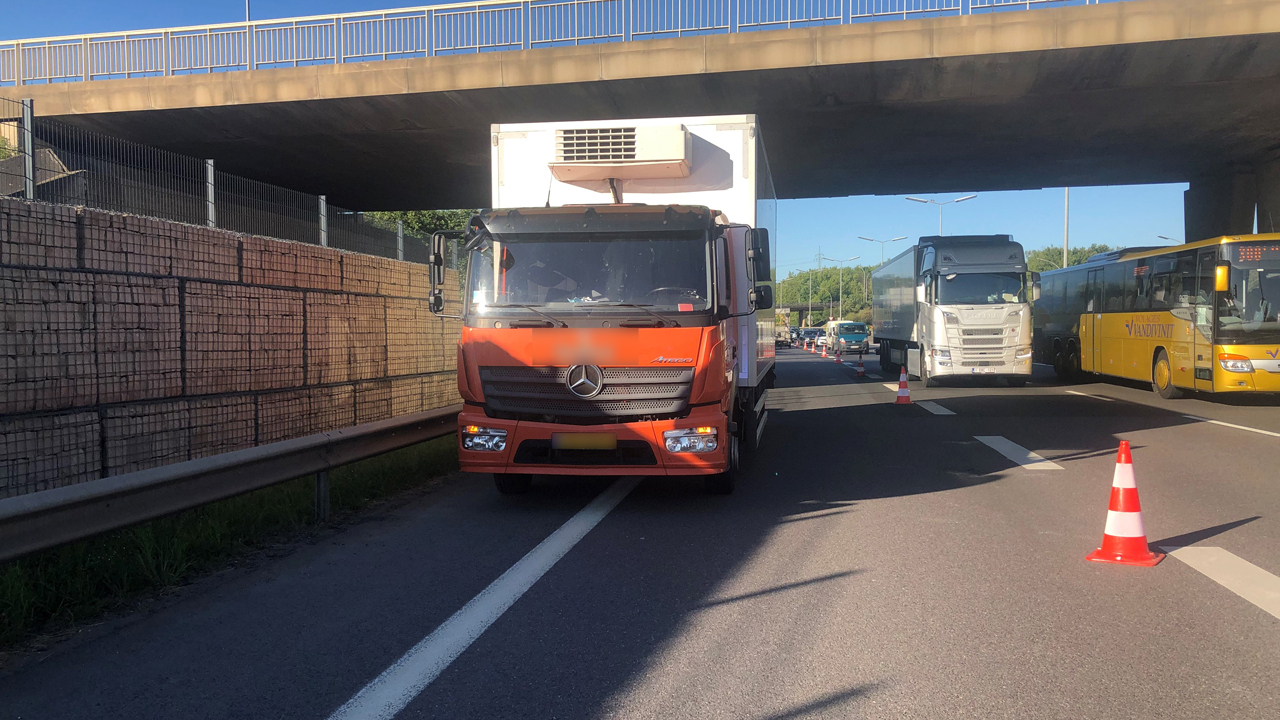 Renversée par un camion :La piétonne renversée sur l'A3 est gravement blessée