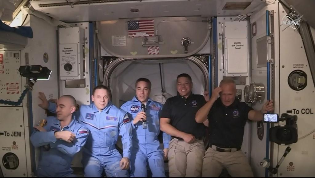 SpaceX :Les deux astronautes sont entrés à bord de l'ISS