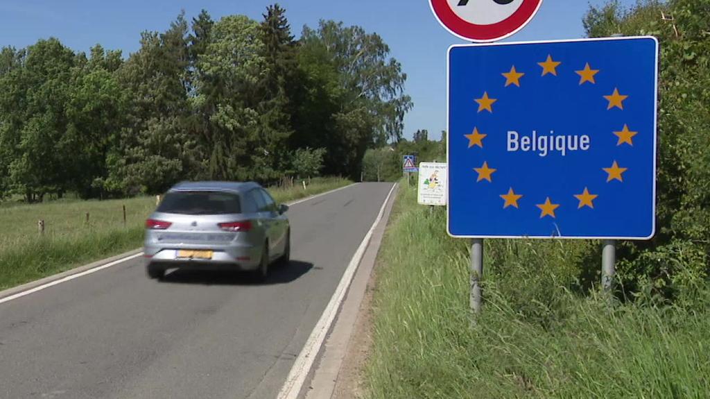 Belgique - Luxembourg :Toujours pas de date pour la réouverture complète de la frontière