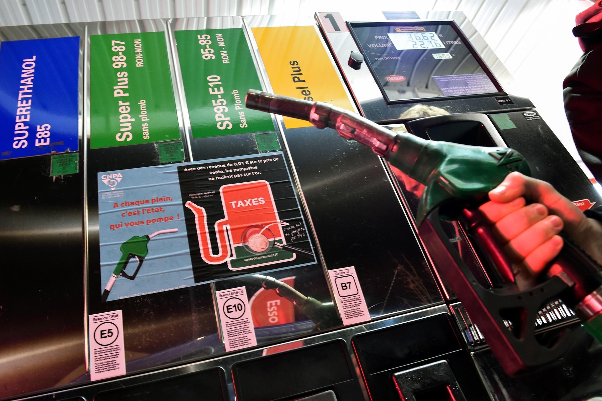 Carburant :Le prix du SP98 grimpe ce samedi au Luxembourg