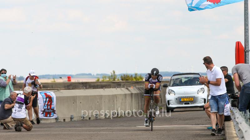 Cycliste luxembourgeois :Ralph Diseviscourt a battu un record du monde