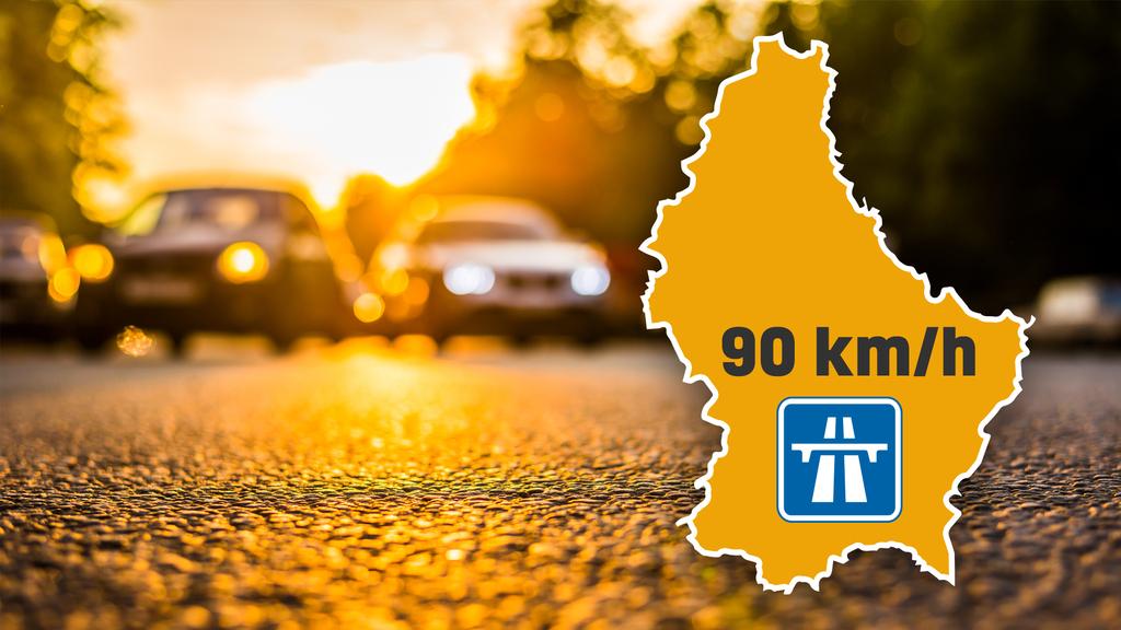 Ozone :Vitesse limitée à 90km/h sur les autoroutes luxembourgeoises