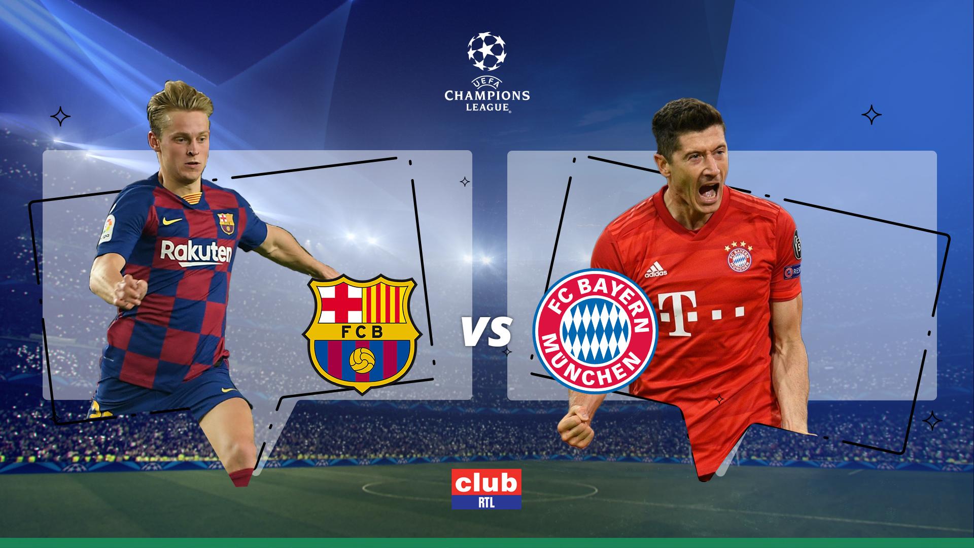 Ligue des Champions :Suivez la rencontre Barcelone - Bayern Munich en direct