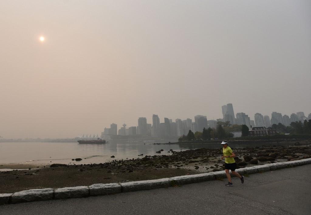 Pire qualité de l'air au monde :Les feux américains étouffent le Canada