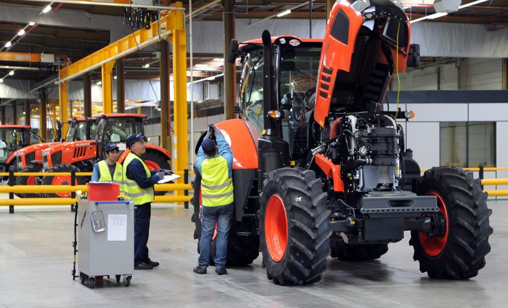 Moselle :Le groupe japonais Kubota va créer une centaine d'emplois à Thionville