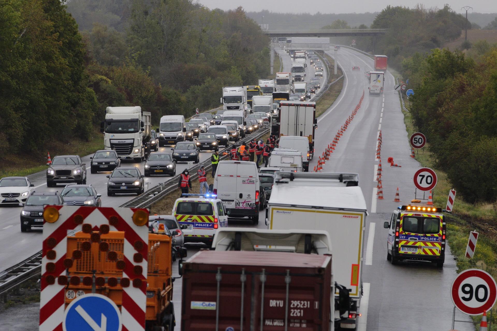 Luxembourg/Lorraine :Une opération de police a provoqué un énorme bouchon sur l'A31 et l'A3