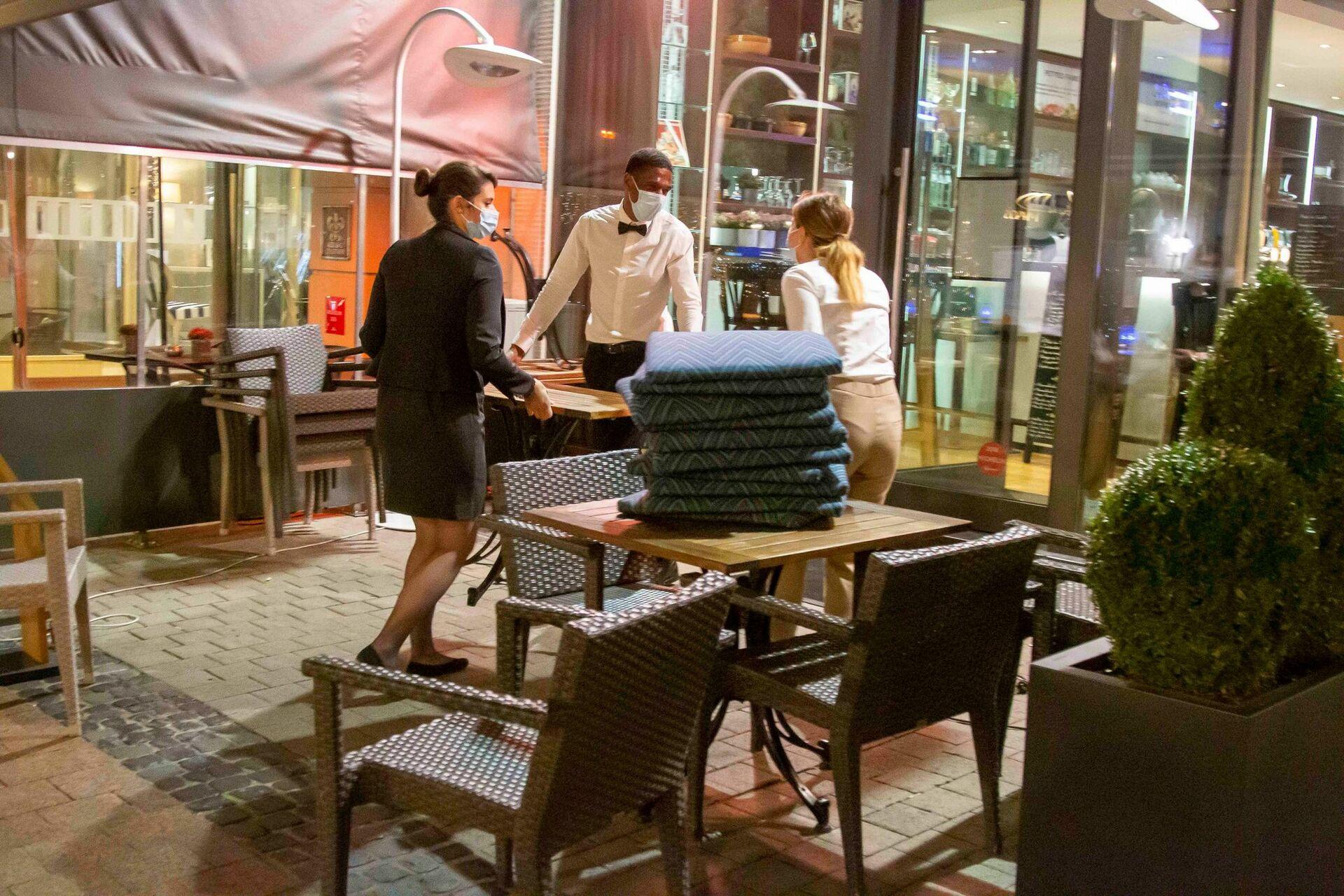 """Luxembourg  :Les restaurants fermés pour 20 jours: """"C'est injuste!"""""""