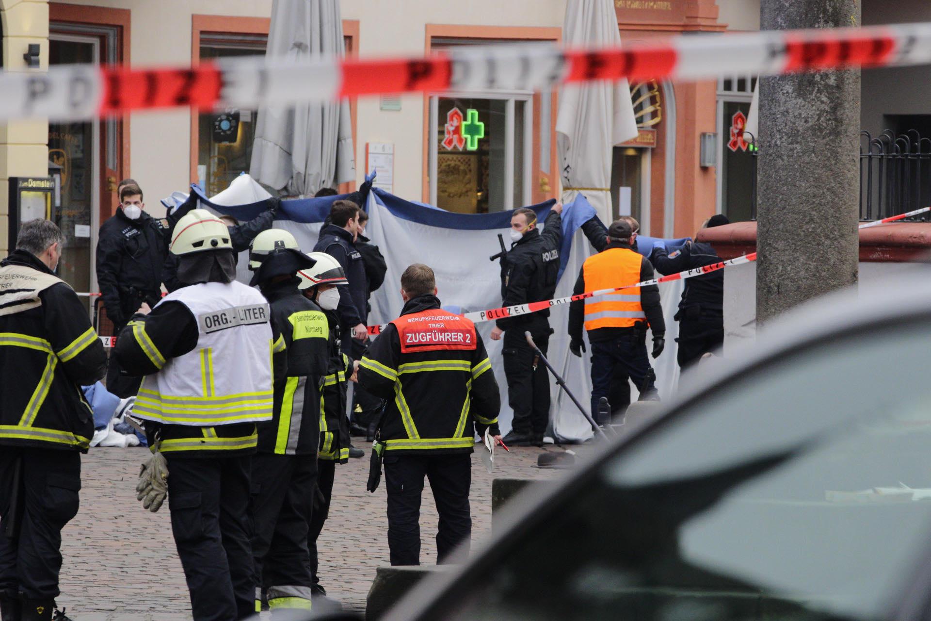 Trèves :Une voiture fonce dans la foule, un bébé parmi les victimes