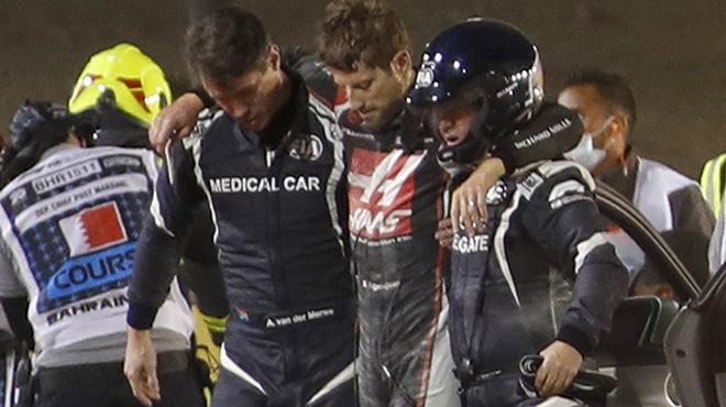 """J'ai vu la mort arriver"" :Le miraculé Romain Grosjean raconte son terrible crash"