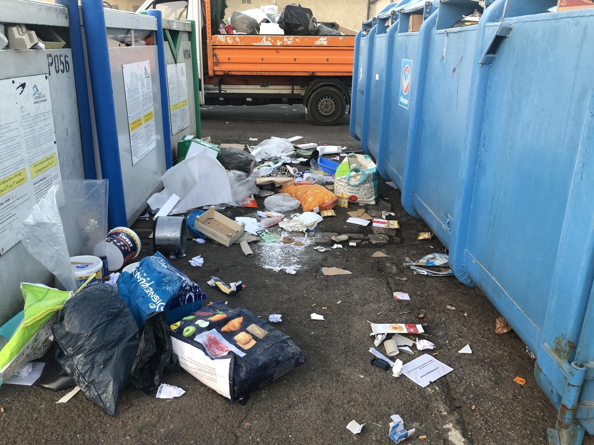Les pollueurs passent à la caisse :Un carton mal recyclé peut vous coûter 178 euros