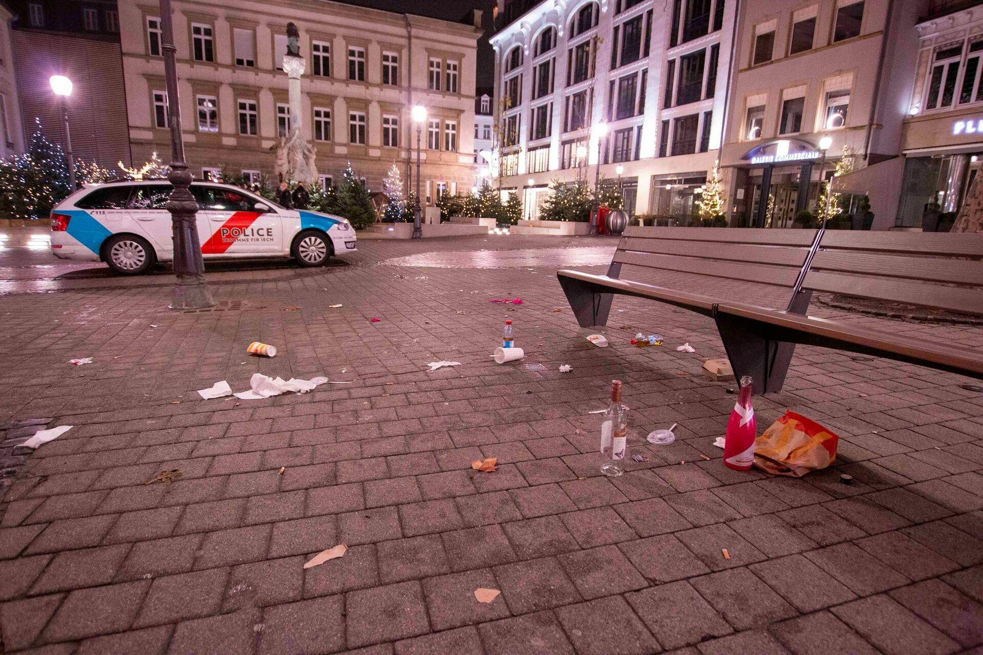 Luxembourg-ville :Pour certains, la fête continue malgré les restrictions