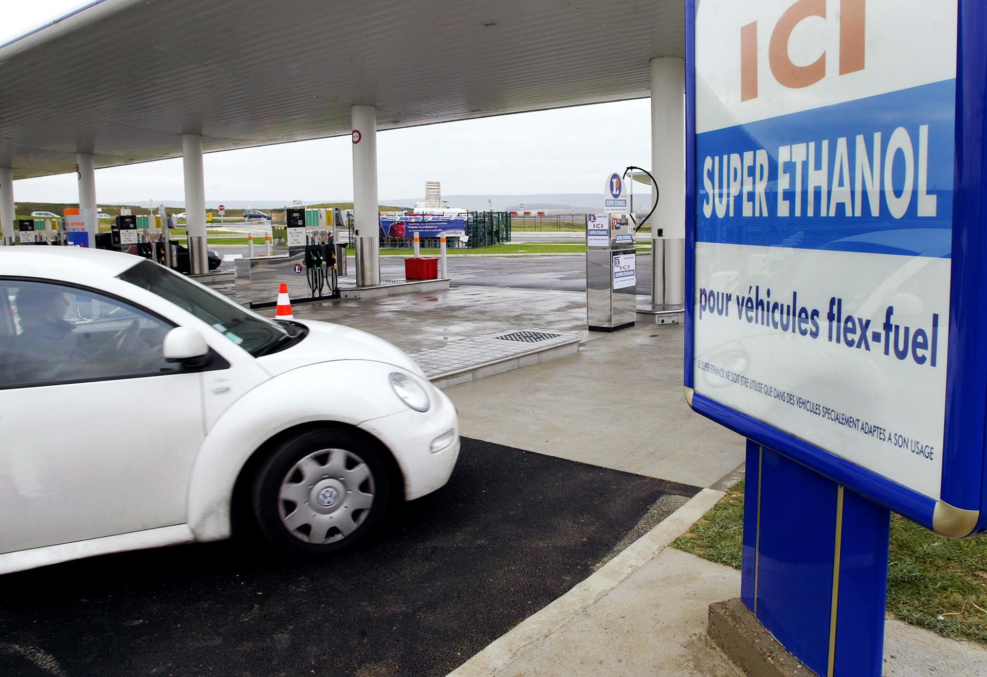 France :Le superéthanol, le carburant qui ne connaît pas la crise