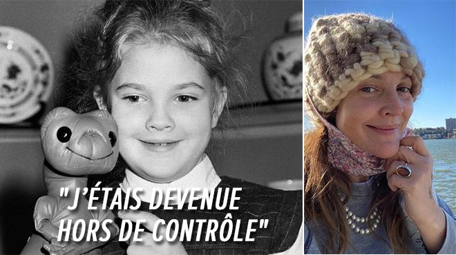"""En hôpital psychiatrique à 13 ans :Drew Barrymore : """"Ma mère avait créé un monstre"""""""