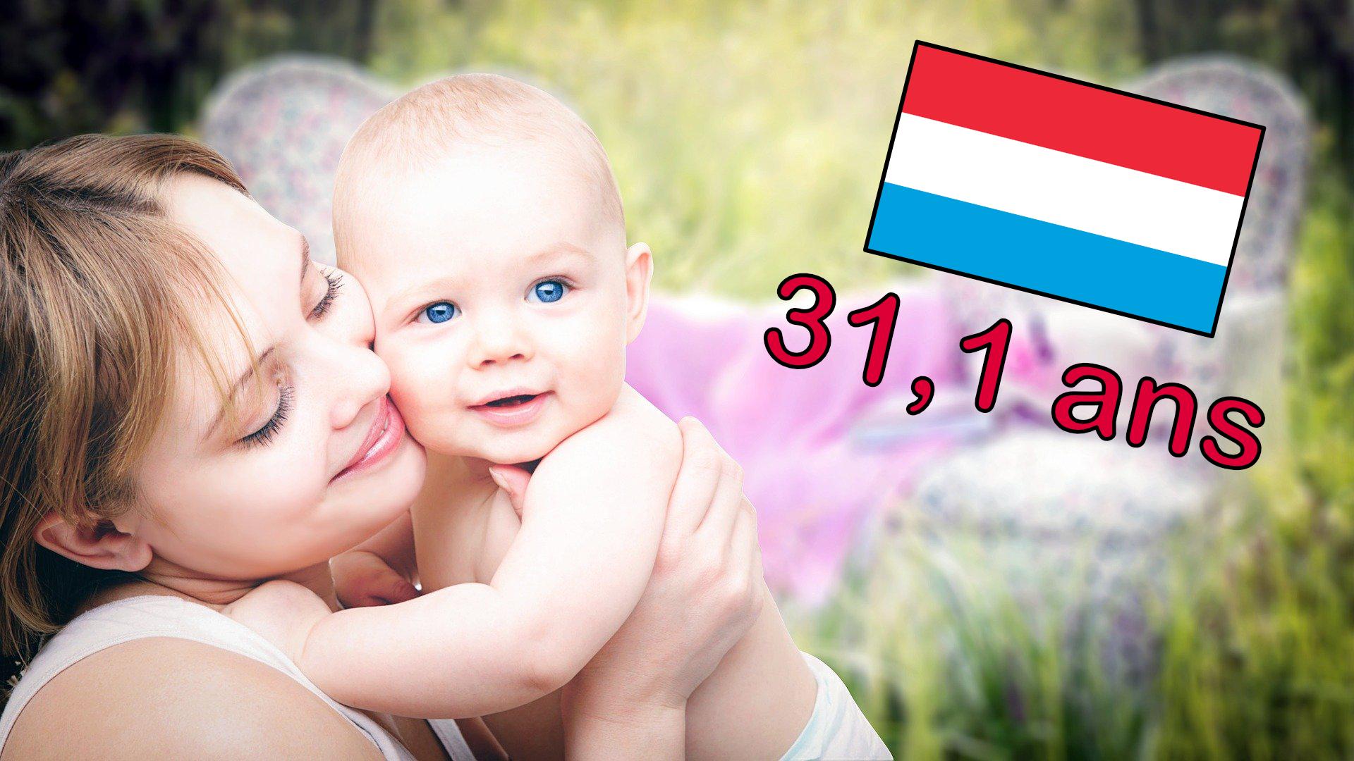 Classement européen :Au Luxembourg, on n'est pas pressé d'avoir le premier enfant
