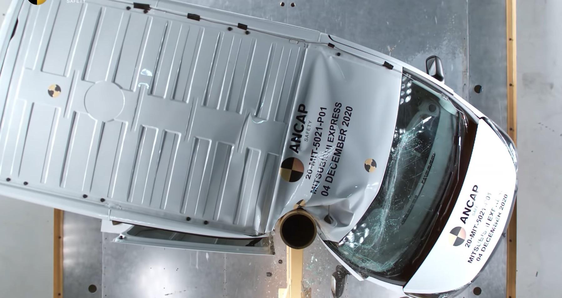 Crash-test :Ce véhicule d'origine française est le pire cancre de la route