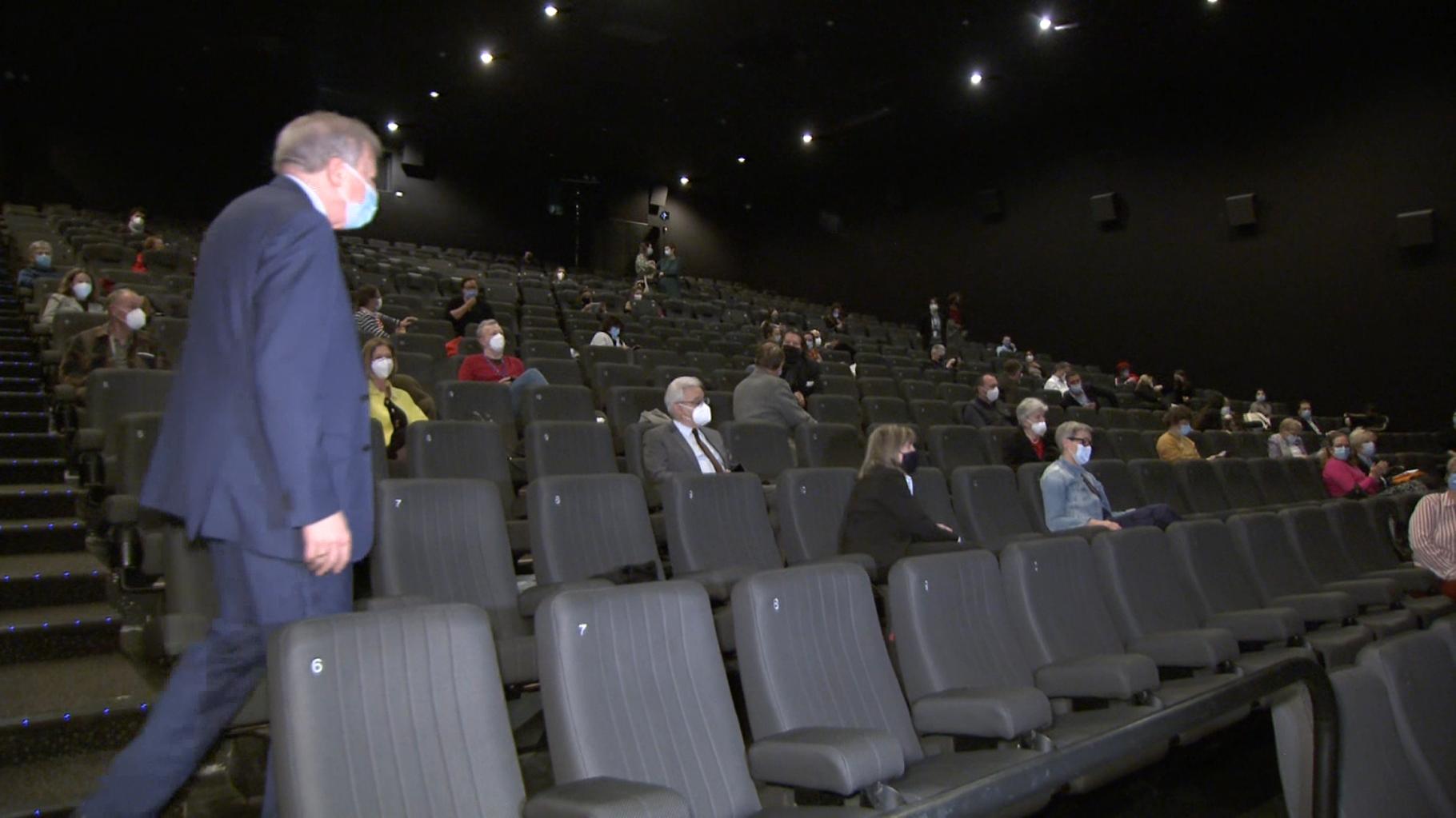Une rareté en Europe :Au Luxembourg, le cinéma redevient une réalité